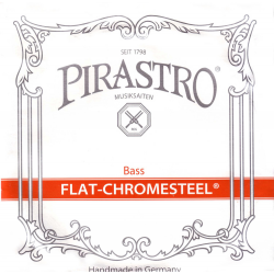 Flat-Chromesteel ORCHESTRA Комплект струн для контрабаса размером 3/4, Pirastro