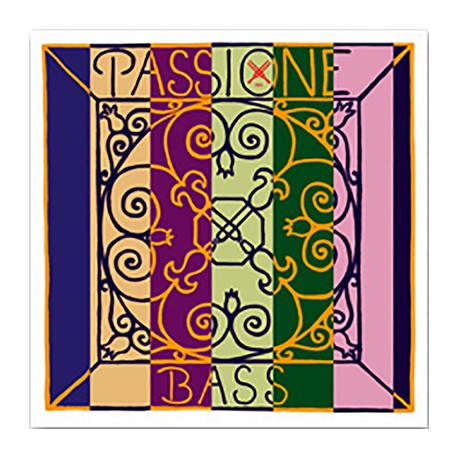 Passione Orchestra Комплект струн для контрабаса размером 3/4, среднее натяжение, Pirastro