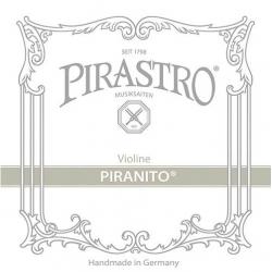 Piranito Комплект струн для скрипки размером 4/4, металл, Pirastro
