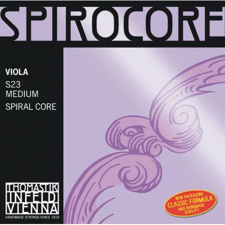 Spirocore Комплект струн для альта размером 4/4, среднее натяжение, Thomastik
