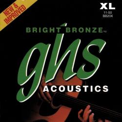 Струны для акустической гитары GHS BB / 20X