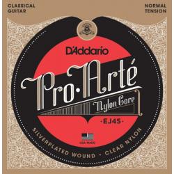 Струны для классической гитары D'ADDARIO EJ45