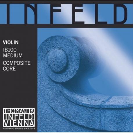 Infeld Blau Комплект струн для скрипки размером 4/4, среднее натяжение, Thomastik