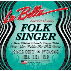 La Bella 840 Комплект струн для классической гитары, шарик