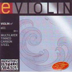 E01 Отдельная струна Е/Ми для скрипки, сталь, Thomastik