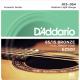 AMERICAN BRONZE 85/15 Струны для акустической гитары Medium Light 12-54 D`Addario