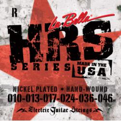 HRS-R Комплект струн для электрогитары 010-046 La Bella