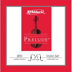 J810-4/4M PRELUDE Комплект струн для скрипки D`Addario