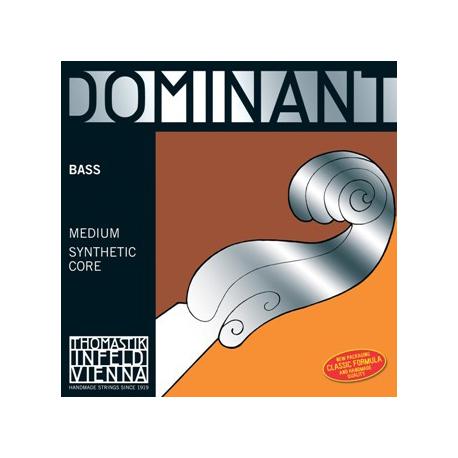 Dominant 197 Solo Комплект струн для контрабаса размером 3/4, соло, Thomastik