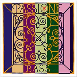 Passione 349000 Solo Комплект струн для контрабаса размером 3/4, сталь, среднее натяжение, Pirastro