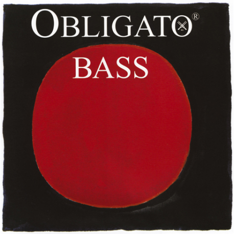 Obligato 441020 Orchestra Комплект струн для контрабаса размером 3/4, Pirastro