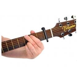PW-CP-07 NS Capo Lite Каподастр для гитары, черный Planet Waves