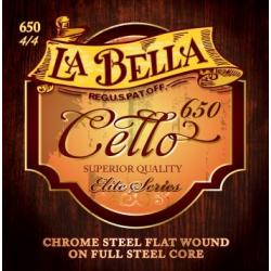 Струны для виолончели LA BELLA 650