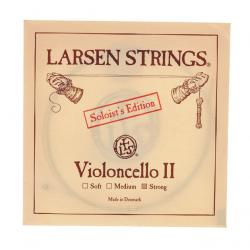 Larsen Soloist отдельная струна Ре сильного натяжения для виолончели