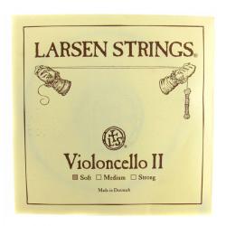 Larsen отдельная струна Ре слабого натяжения для виолончели