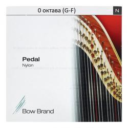 0 октава нейлоновые струны для арфы Bow Brand