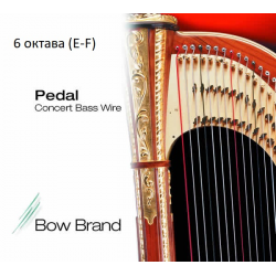 Металлические струны для арфы Bow Brand 6 октава