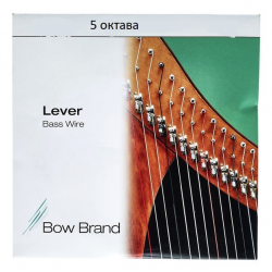 Комплект из пяти струн Bow Brand для леверсной арфы 5 октава