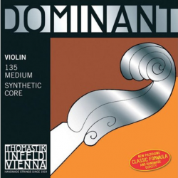Dominant Комплект струн для скрипки размером 4/4, среднее натяжение, Thomastik
