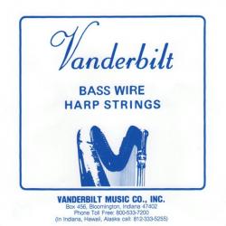 Комплект струнVanderbilt для педальной арфы 46 струн