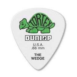 424P.88 Tortex Wedge Медиатор 0.88 мм., Dunlop