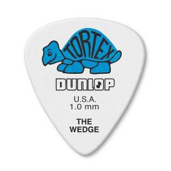 424P1.0 Tortex Wedge Медиатор 1.00 мм., Dunlop