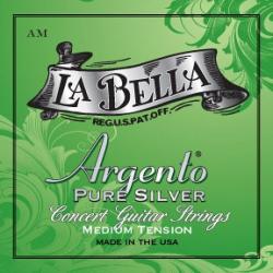 La Bella AM Argento PURE SILVER Комплект струн для классической гитары