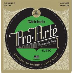 D'Addario EJ25C Pro-Arte Composite Комплект струн для гитары фламенко