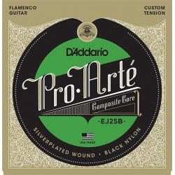 D'Addario EJ25B Pro-Arte Composite Комплект струн для гитары фламенко