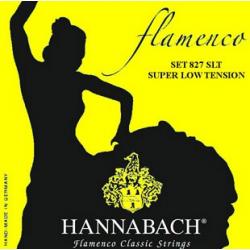 Hannabach 827SLT Yellow FLAMENCO Струны для классической гитары