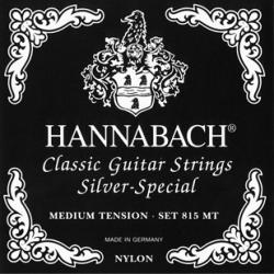 Hannabach 815MT Black SILVER SPECIAL Комплект струн для классической гитары