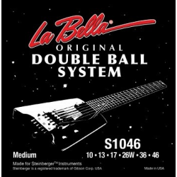 La Bella S1046 Комплект струн для электрогитары без головки грифа