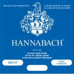 Hannabach 800HT Blue SILVER PLATED Струны для классической гитары