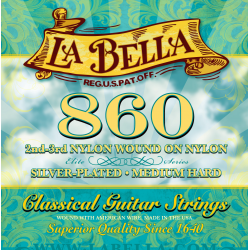 860 Комплект струн для классической гитары.