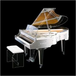 Рояль прозрачный (Transparency) Kawai CR-40