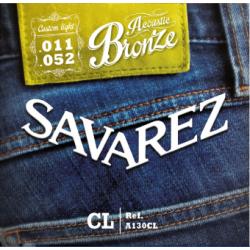 Струны для акустических гитар SAVAREZ  A130CL