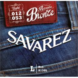 Струны для акустических гитар SAVAREZ  A130L