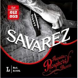 Струны для акустических гитар SAVAREZ  A140L