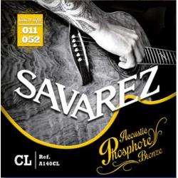 Струны для акустических гитар SAVAREZ  A140CL