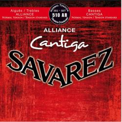 ALLIANCE CANTIGA Струны для классических гитар SAVAREZ 510 AR