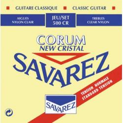 NEW CRISTAL CORUM Струны для классических гитар SAVAREZ 500 CR