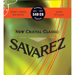 NEW CRISTAL CLASSIC Струны для классических гитар SAVAREZ 540 CR