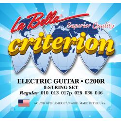 C200R Criterion Комплект струн для электрогитары 010-046 La Bella