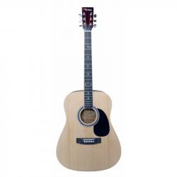 VESTON D-40 SP/N акустическая гитара, дредноут, цвет: натуральный