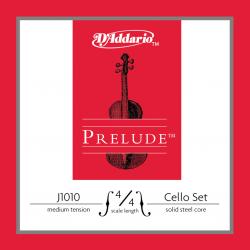 J1010-4/4M PRELUDE Комплект струн для виолончели D`Addario
