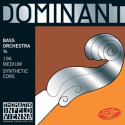 Dominant 196 Orchestra Комплект струн для контрабаса размером 3/4, оркестровые, Thomastik