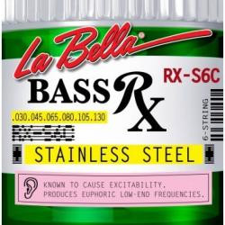 LA BELLA RX-S6C - Струны для бас-гитары Ла Белла