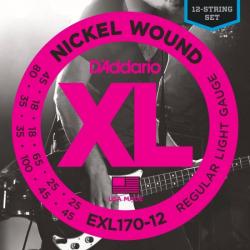 D'ADDARIO EXL170 12 - Струны для бас-гитары Даддарио