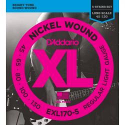 D'ADDARIO EXL170 5 - Струны для бас-гитары Даддарио