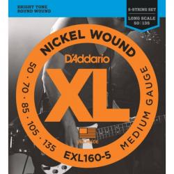 D'ADDARIO EXL160 5 - Струны для бас-гитары Даддарио
